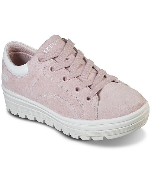 ac4c358fd06 ... Skechers Women's Street Cleat - Back Again Casual Sneakers from Finish  ...