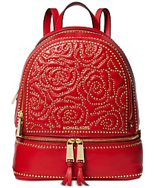 72356dabd1 MICHAEL Michael Kors Rhea Zip Studded Backpack