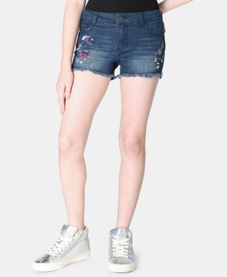 Big Girls Embroidered Unicorn Shorts, Created for Macy's