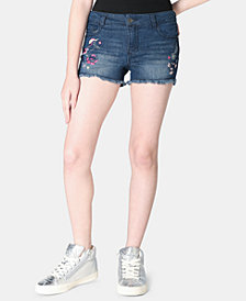 Epic Threads Big Girls Embroidered Unicorn Shorts, Created for Macy's