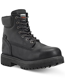 "6"" Direct Attach Safety Toe Water-resistant Work Boot"