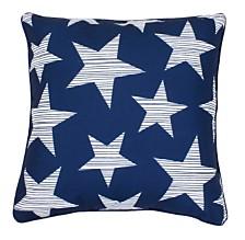"Star Spangled Pillow, 20"" x 20"""