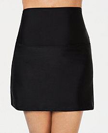 Island Escape La Palma High-Waist Tummy Control Swim Skirt, Created for Macy's