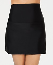 La Palma High-Waist Tummy Control Swim Skirt, Created for Macy's