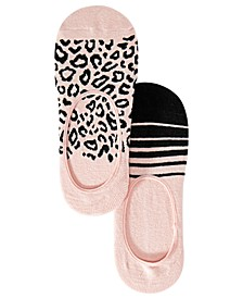 INC 2-Pk. Printed Liner Socks, Created for Macy's