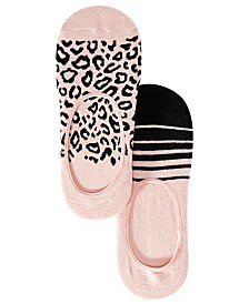 I.N.C. 2-Pk. Printed Liner Socks, Created for Macy's