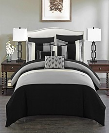Ayelet 8 Piece Twin Bed In a Bag Comforter Set