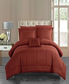 Chic Home Jordyn 8 Piece King Bed In a Bag Comforter Set
