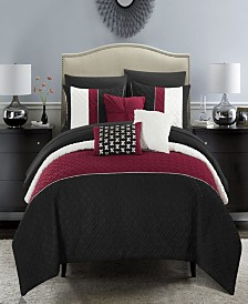 Chic Home Osnat 8 Piece Twin Bed In a Bag Comforter Set