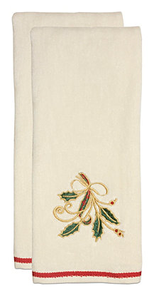Lenox Holiday Nouveau Kitchen Towels, Set of 2