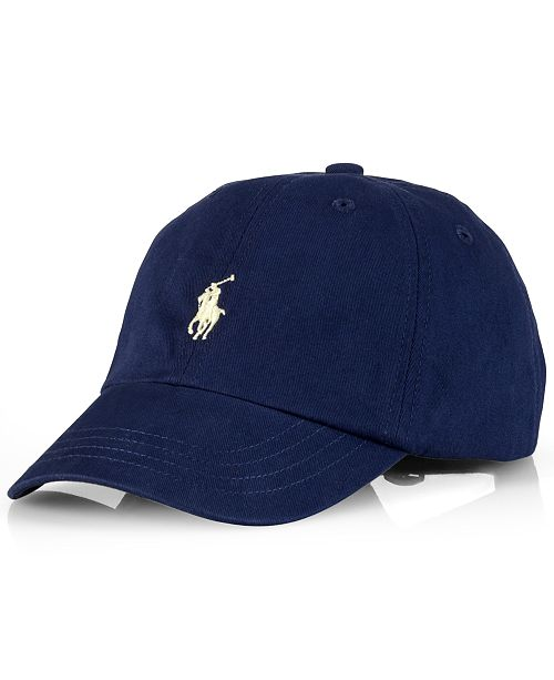05d5f12c Polo Ralph Lauren Big Boys Classic Sport Cap & Reviews - All Kids ...
