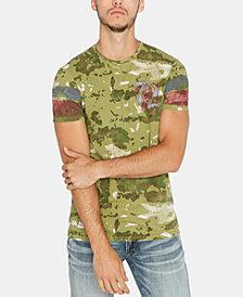 Buffalo David Bitton Men's Camouflage Graphic T-Shirt