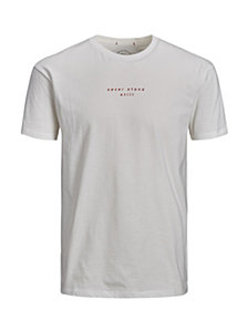 Jack & Jones Men's Wasted Crewneck Tshirt