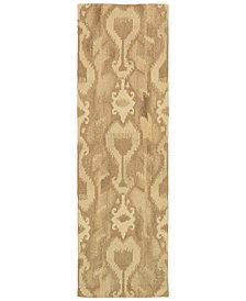 """Oriental Weavers Anastasia 68004 Ivory/Sand 2'6"""" x 8' Runner Area Rug"""