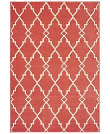 """Oriental Weavers Barbados 5996S Pink/Ivory 9'10"""" x 12'10"""" Indoor/Outdoor Area Rug"""