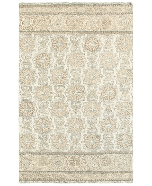 Oriental Weavers Craft 93002 Ash/Sand 5' x 8' Area Rug