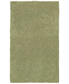 Oriental Weavers Heavenly Shag 73403 Green/Green 5' x 7' Area Rug