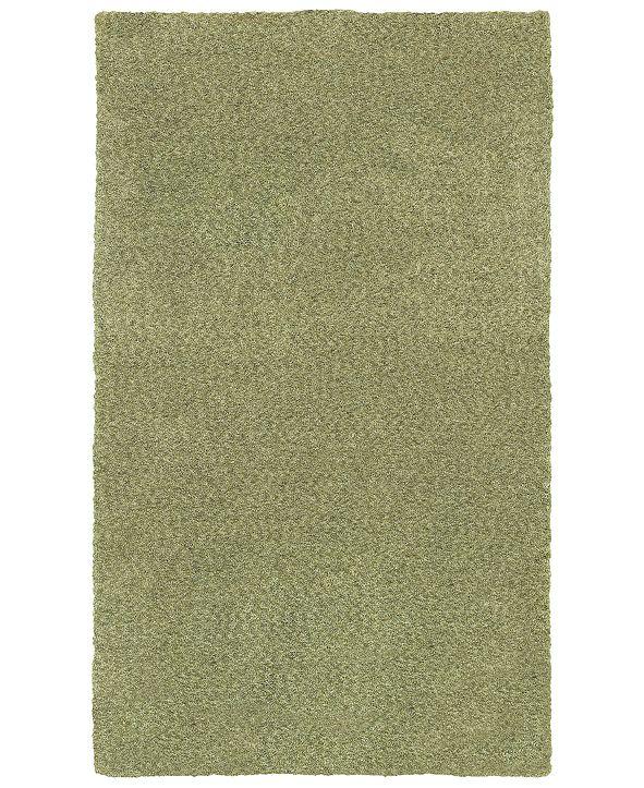 Oriental Weavers Heavenly Shag 73403 Green/Green 8' x 11' Area Rug