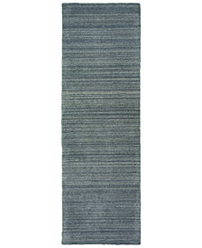 "Oriental Weavers Infused 67000 Charcoal/Charcoal 2'6"" x 8' Runner Area Rug"