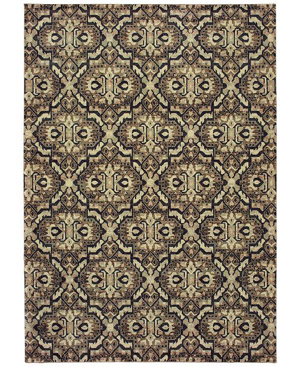 """Oriental Weavers Raleigh 4927 1'10"""" x 3' Area Rug"""