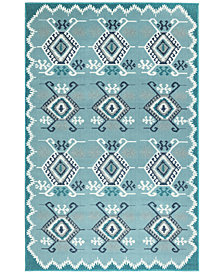 "Liora Manne' Riviera 7645 Kilim 7'10"" Indoor/Outdoor Square Area Rug"
