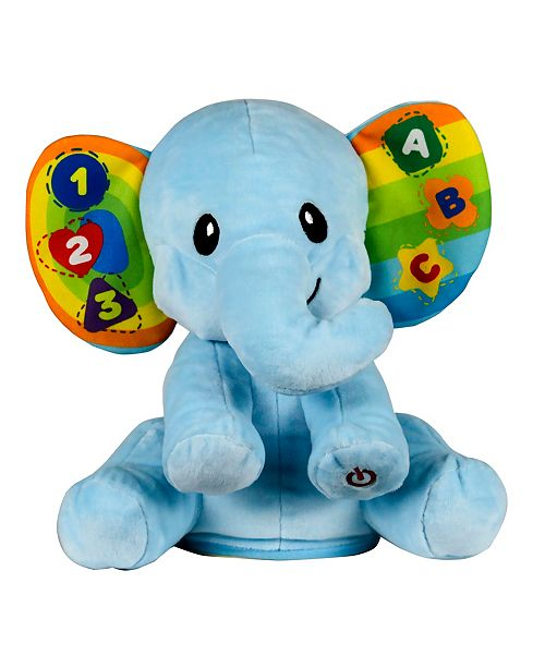 Group Sales Learn with Me Plush Elephant