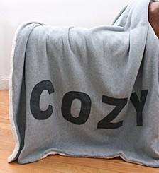 """Cozy Applique Decorative 50"""" x 60"""""""
