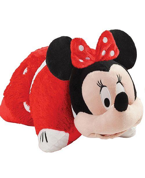 Pillow Pets Disney Rockin the Dots Minnie Jumboz Stuffed Animal Plush Toy