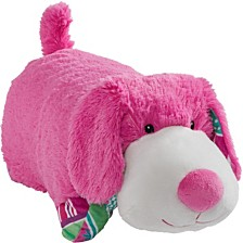Pillow Pets Colorful Pup Stuffed Animal Plush Toy