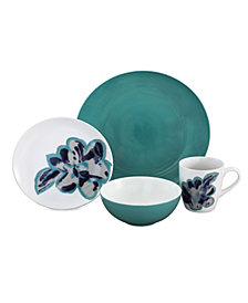 Baum Bloom 16 Piece Dinnerware Set