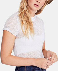 Free People Night Sky Crewneck Top