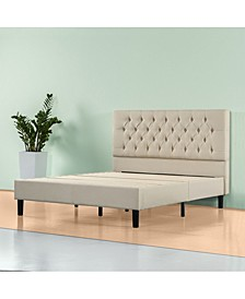 Misty Platform Bed Frame / No Box Spring Needed, Queen