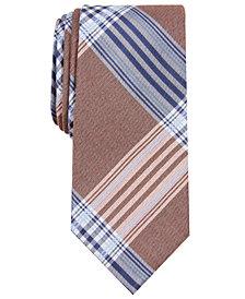 Nautica Men's Clark Slim Plaid Tie