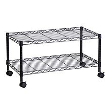 Honey Can Do 2-Tier TV Stand and Media Cart