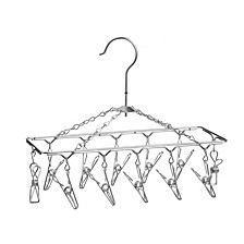 12-Hook Carousel Hanging Drying Rack