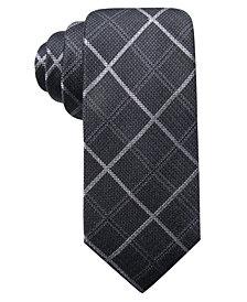 Ryan Seacrest Distinction™ Men's Parga Plaid Slim Tie, Created for Macy's
