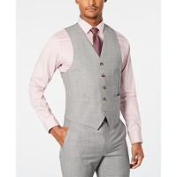 Ralph Lauren Men's Classic-Fit UltraFlex Stretch Stepweave Suit Vest