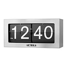 Nostalgic Metal Flip Clock