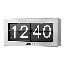 Victrola Nostalgic Metal Flip Clock