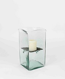Square Medium Candle Hurricane