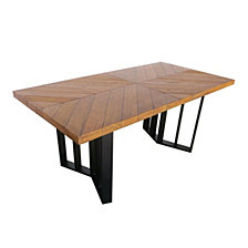 Verona Outdoor Dining Table, Quick Ship