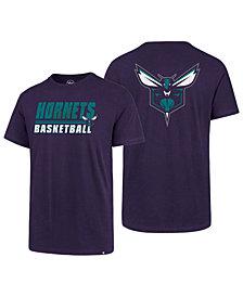 '47 Brand Men's Charlotte Hornets Fade Back Super Rival T-Shirt