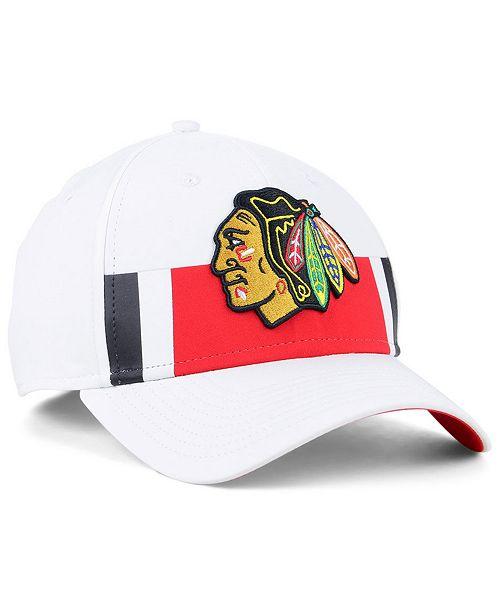 02fc52d579b8a3 ... Authentic NHL Headwear Fanatics Chicago Blackhawks Alternate Jersey  Speed Flex Stretch Fitted Cap ...