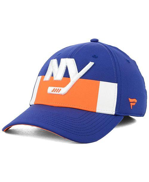 3f5573681b6fd6 ... Authentic NHL Headwear Fanatics New York Islanders Alternate Jersey  Speed Flex Stretch Fitted Cap ...