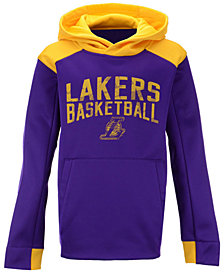 Outerstuff Los Angeles Lakers Off The Court Hoodie, Big Boys (8-20)