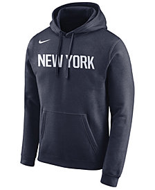 Nike Men's New York Knicks City Club Fleece Hoodie