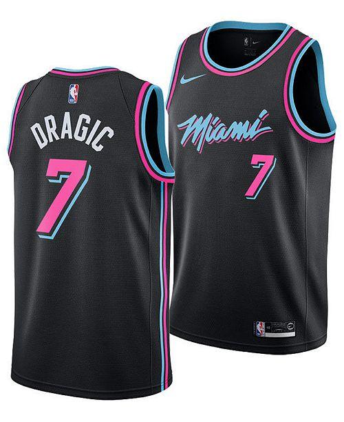 72ae293cff17 Nike Men s Goran Dragic Miami Heat City Swingman Jersey 2018 ...