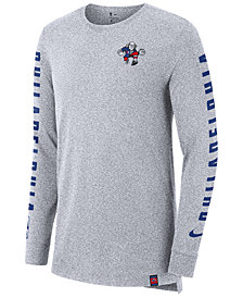 Nike Men's Philadelphia 76ers City Elevated Long Sleeve Dry T-Shirt