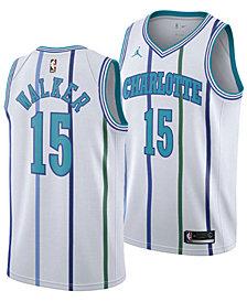 Nike Men's Kemba Walker Charlotte Hornets Hardwood Classic Swingman Jersey
