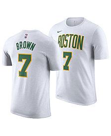 Nike Men's Jaylen Brown Boston Celtics City Player T-Shirt 2018